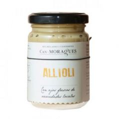 Allioli Ecológico 170gr. Can Moragues. 6 Unidades