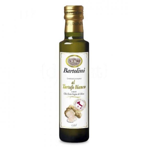 Aceite de Oliva Virgen con Trufa Blanca 250ml. Bartolini. 6 Unidades