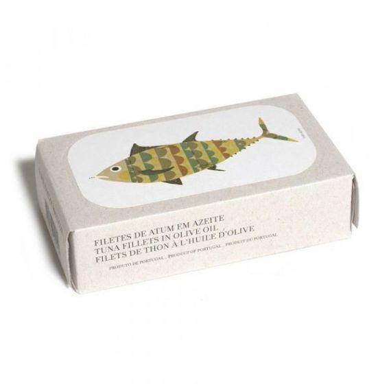 Filetes de Atún en AOVE 125gr. Jose Gourmet. 8 Unidades