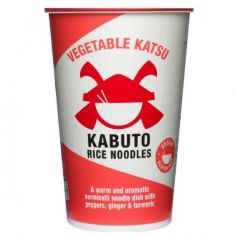 Vegetable Katsu 65gr. Kabuto Noodles. 6 Unidades