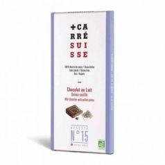 Tableta Chocolate Leche & Quinoa 100gr. Carré Suisse. 10 Unidades