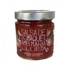 Salsa de Tomate con María Luisa 390gr. Antoni Izquierdo. 6 Unidades