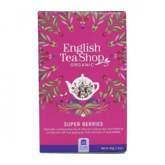 Té Frutos Rojos 40gr. English Tea Shop. 6 Unidades