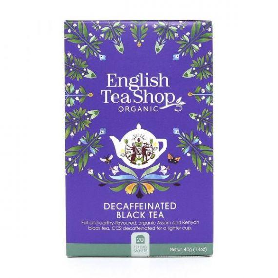 Té Breakfast Descafeinado 40gr. English Tea Shop. 6 Unidades