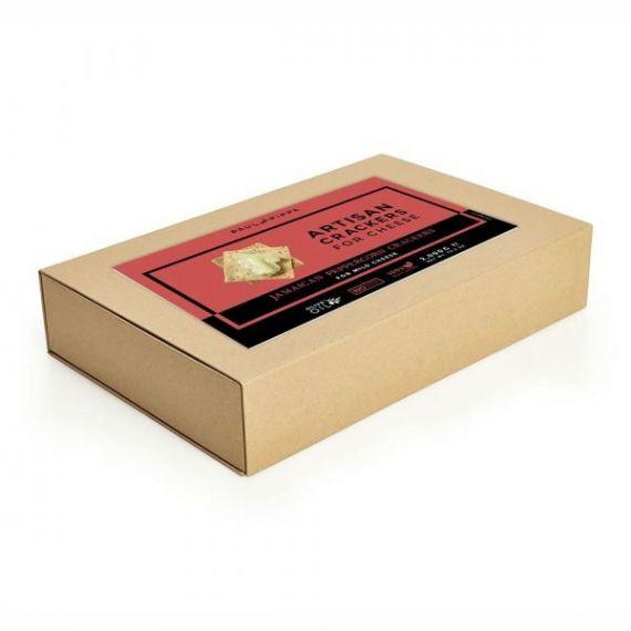 Crackers con Pimienta Rosa de Jamaica 2kg. Paul & Pippa. 1 Unidades