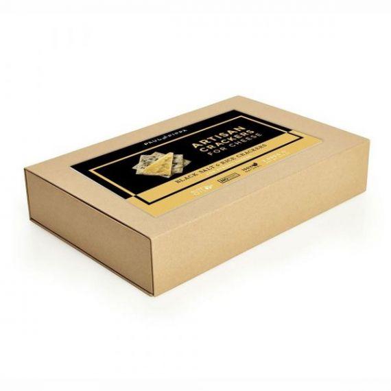 Crackers con Sal Negra y Arroz 2kg. Paul & Pippa. 1 Unidades
