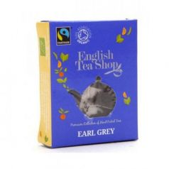 Te Earl Grey Bio Horeca 50 bolsitas 100gr. English Tea Shop. 1 Unidades