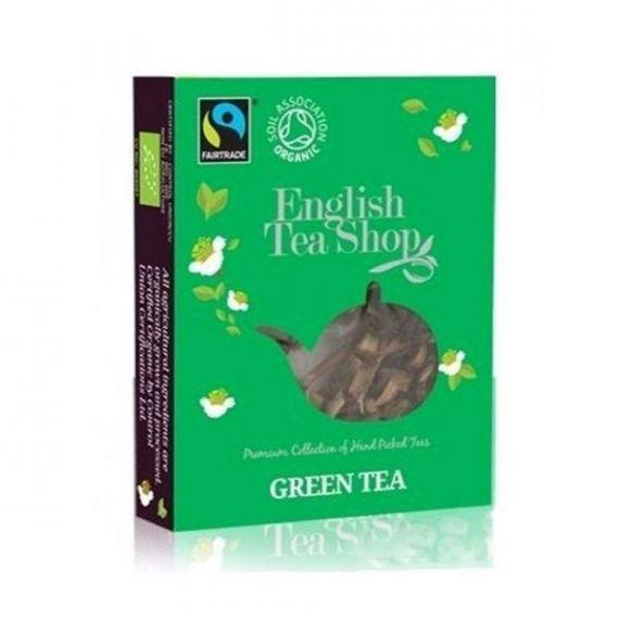 Te Green Tea Bio Horeca 50 bolsitas 100gr. English Tea Shop. 1 Unidades