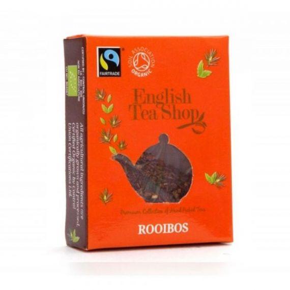 Te Rooibos Bio Horeca 50 bolsitas 100gr. English Tea Shop. 1 Unidades