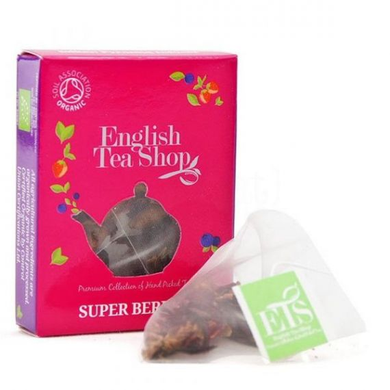 Te Frutos Rojos Bio Horeca 50 bolsitas 100gr. English Tea Shop. 1 Unidades