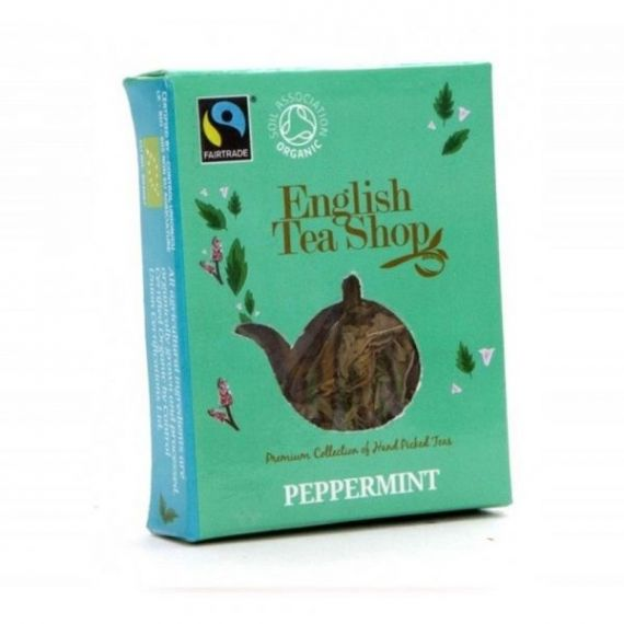 Infusión Menta Bio Horeca 50 bolsitas 100gr. English Tea Shop. 1 Unidades