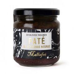 Paté de olivas negras 185gr. Mallafré. 6 Unidades