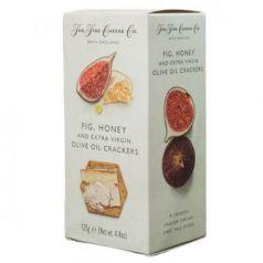 Crackers de Higos, Miel y AOVE 125gr. The Fine Cheese Co. 12 Unidades