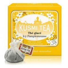 Icy Grapefruit - Iced Tea 10 Muslins. Kusmi Tea. 9 Unidades