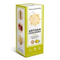 Artisan Crackers con Quinoa 100gr. Paul & Pippa. 6un
