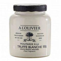 Mostaza de Trufa Blanca 100gr. A L\'Olivier. 6 Unidades