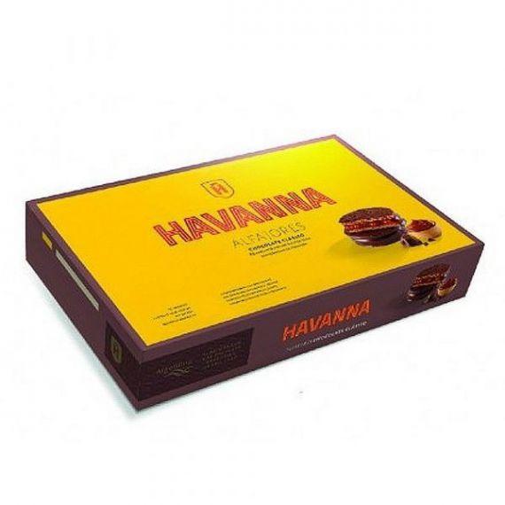 Alfajores de Chocolate (paquete de 6) 306gr. Havanna. 12 Unidades