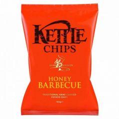 Patatas fritas sabor Barbacoa con Miel 150gr. Kettle Chips. 8 Unidades