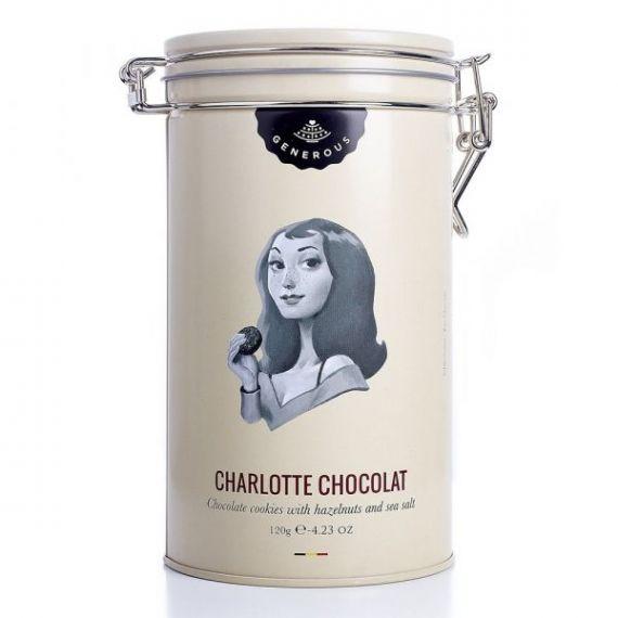 Charlotte Chocolate Lata 120gr. Generous. 4 Unidades