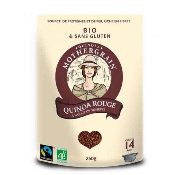 Quinoa Roja Bio 250gr. Quinola. 8un