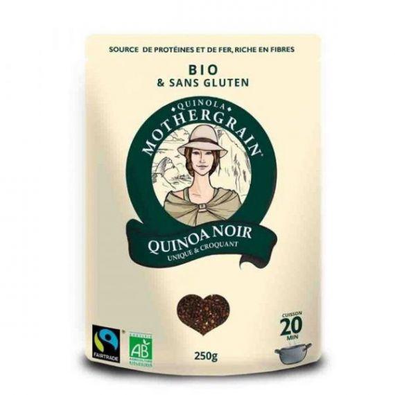 Quinoa Negra Bio 250gr. Quinola. 8un