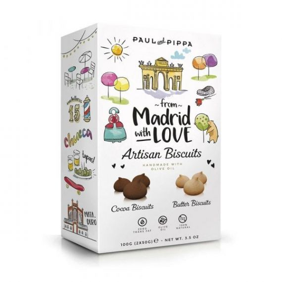Paciencias From Madrid with Love 150gr. Paul & Pippa. 8un