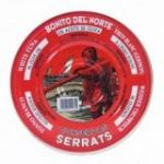 Bonito del Norte en Aceite de Oliva 1800gr. Serrats. 4 Unidades