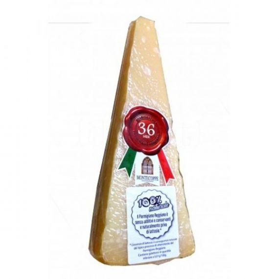 Parmigiano Reggiano DOP Artesano 36 meses 200gr. Montecoppe. 5 Unidades