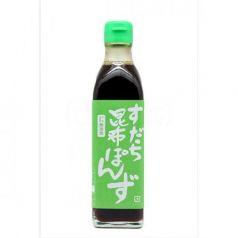 Vinagre Sudachi-Kombu-Ponzu 30cl. Marusho. 6 Unidades