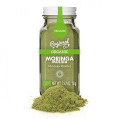 Moringa Orgánica Molida 70gr. Regional Co. 6 Unidades