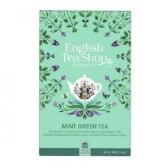 Te Verde Menta 40gr. English Tea Shop. 6 Unidades