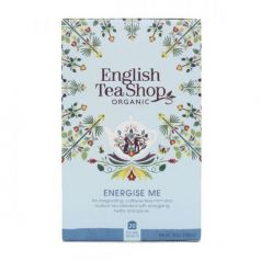 Infusión Energise Me 30gr. English Tea Shop. 6un.