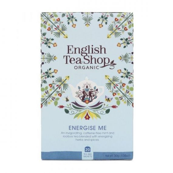 Infusión Energise Me 30gr. English Tea Shop. 6 Unidades