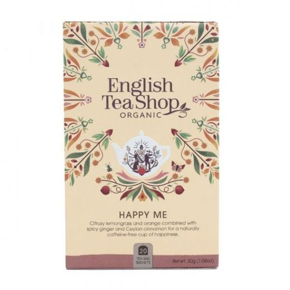 Infusión Happy Me 30gr. English Tea Shop. 6 Unidades