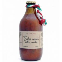 Salsa Casera Alla Ricotta 330gr. Gourmet Leon. 12 Unidades