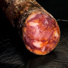 Chorizo Ibérico Puro Extra de Bellota 300gr. Maldonado. 1 Unidades