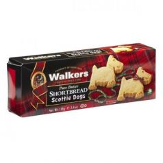 Shortbreads Scottie Dogs de Mantequilla 110gr. Walkers. 12 Unidades