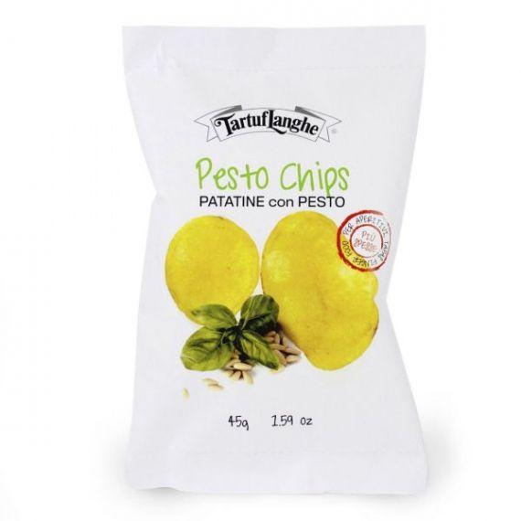 Patatas con Pesto 45gr. Tartuflanghe. 18 Unidades