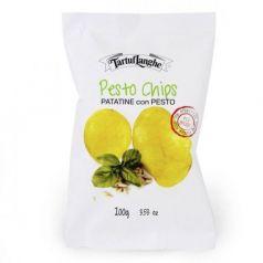 Patatas con Pesto 100gr. Tartuflanghe. 9 Unidades