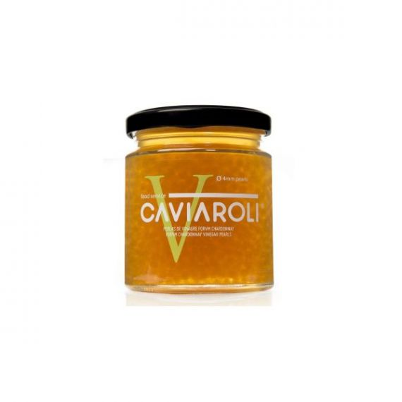 Caviaroli de Vinagre de Chardonnay 4mm 200gr. Caviaroli. 4 Unidades