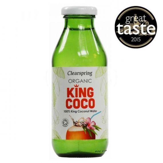 Agua de Coco 350ml. Clearspring. 6 Unidades