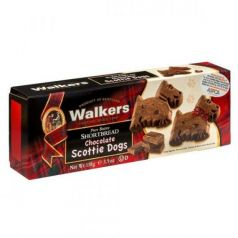Shortbreads Scottie Dogs de Mantequilla y Chocolate 110gr. Walkers. 12 Unidades