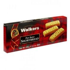 Shortbreads Fingers de Mantequilla 150gr. Walkers. 24 Unidades