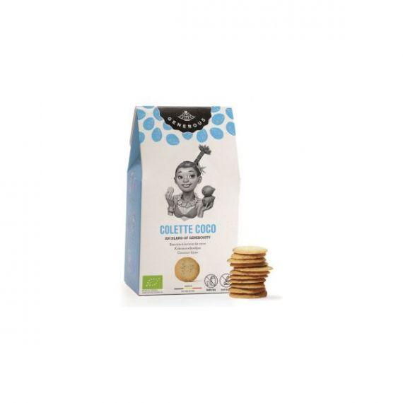 Galletas Ecológicas de Coco (Colette Coco) 100gr. Generous. 8 Unidades