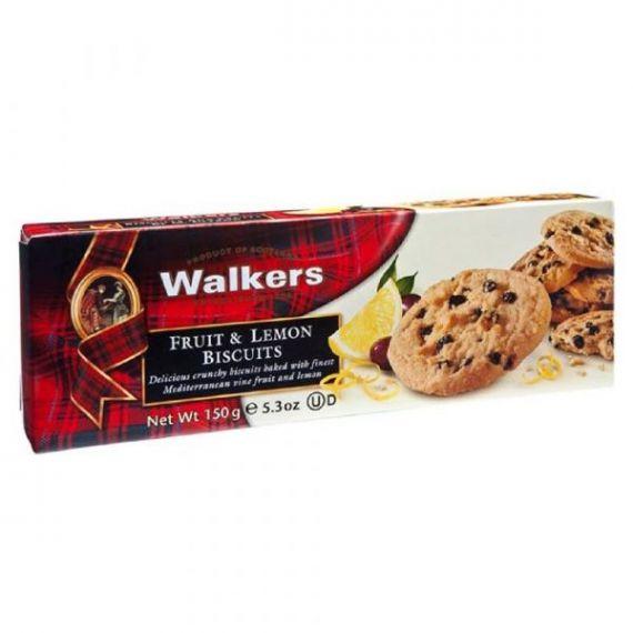 Biscuits de Fruta y Limón 150gr. Walkers. 12 Unidades