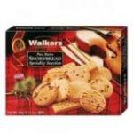 Surtido Especial Shortbread de Mantequilla 350gr. Walkers. 12 Unidades