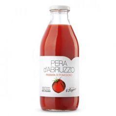 Tomate Natural Triturado Pera d'Abruzzo 500gr. Verde Abruzzo. 12 Unidades
