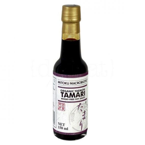 Salsa Tamari BIO 150ml. Mitoku. 12 Unidades