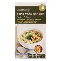Quick Cook Cereales y Legumbres 250gr. Clearspring. 5 Unidades