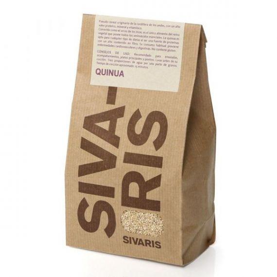 Quinoa Blanca (papel kraft) 400gr. Sivaris. 6 Unidades